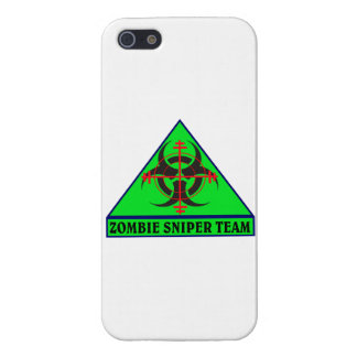 Zombie Sniper Team iPhone Case Case For The iPhone 5