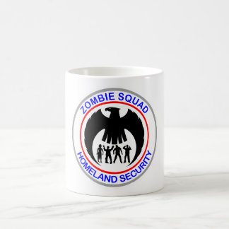 Zombie Squad Homeland Security Classic White Coffee Mug