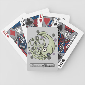 Zombie Squid Playing Cards
