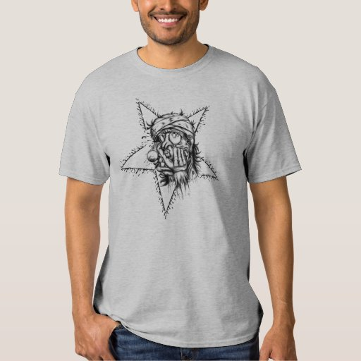 Zombie Star T Shirt