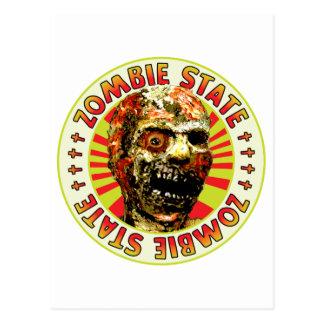 Zombie State Postcard