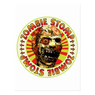 Zombie Stomp Postcard
