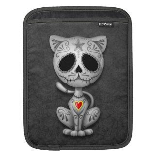 Zombie Sugar Kitten, dark iPad Sleeve