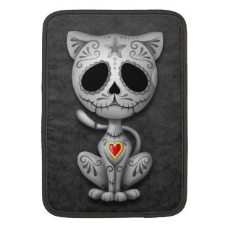 Zombie Sugar Kitten, dark MacBook Sleeve