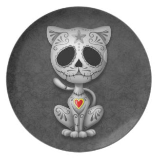 Zombie Sugar Kitten, dark Plate