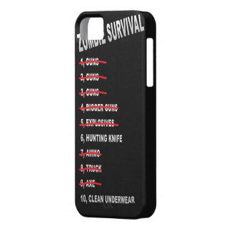 Zombie Survival Checklist iPhone cover