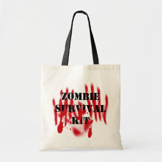 Zombie Survival Kit Tote Bags