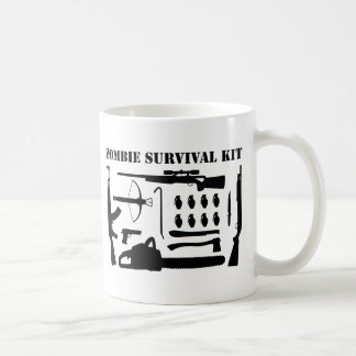 Zombie Survival Kit Coffee Mug