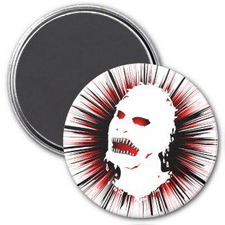 Zombie Survivors Icon Flair 7.5 Cm Round Magnet