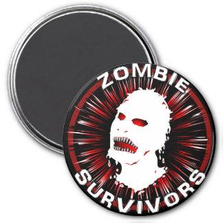 Zombie Survivors Icon Flair Refrigerator Magnets