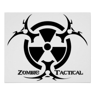 Zombie Tactical Poster
