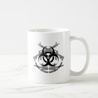 Zombie tactical response squad coffee mug