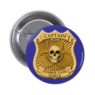 Zombie Task Force - Captain Badge