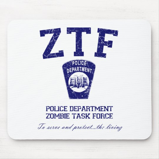 Zombie Task Force Mouse Mat