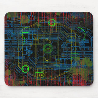 Zombie Tech A Mouse Pad