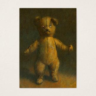 Zombie Teddy Bear ACEO Business Card