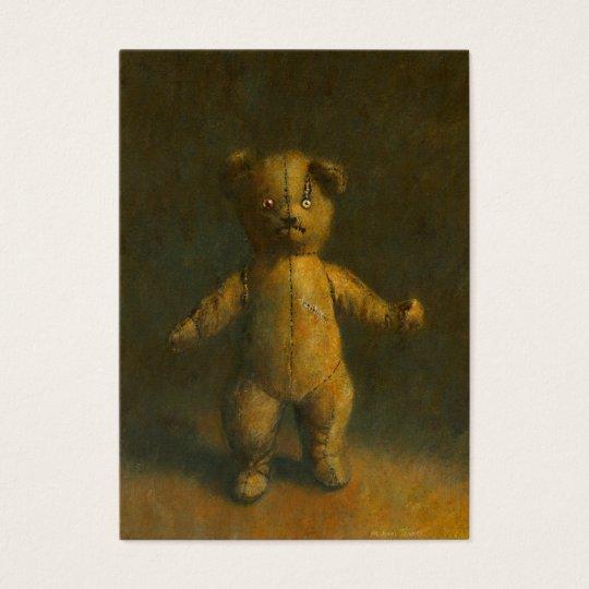 Zombie Teddy Bear Business card