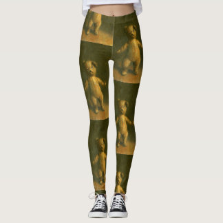 Zombie Teddy Bear Leggings