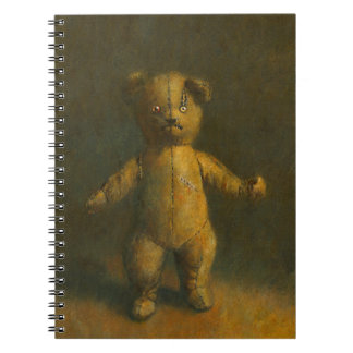 Zombie Teddy Bear Note book