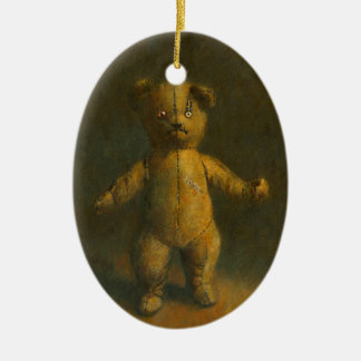 Zombie Teddy Bear Ornament