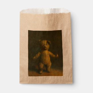 zombie Teddy Custom Favor Gift Bag Favour Bags