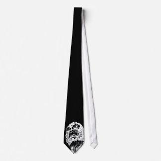 Zombie tie on Black