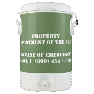 Zombie Toxin Igloo Beverage Cooler - 5 Gallon