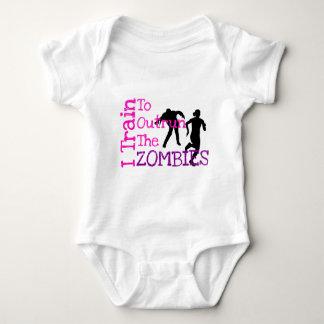 Zombie Training Baby Bodysuit