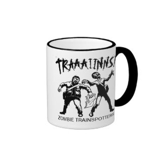 Zombie Trainspotters Mug