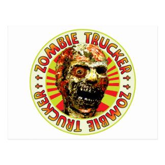 Zombie Trucker Post Card