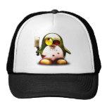 Zombie Tux (Linux Tux) Trucker Hat