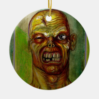 ZOMBIE UGLY FACE ORNAMENT
