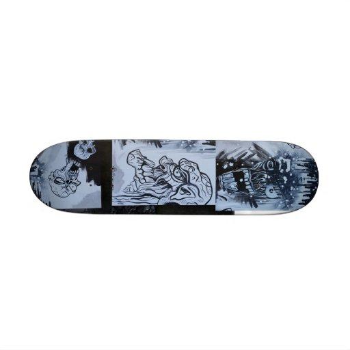 Zombie Urban Street Graffiti Custom Skateboard