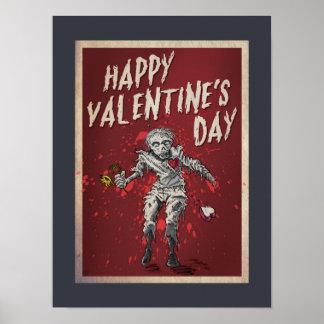 Zombie Valentine's Day Poster