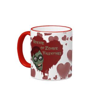 Zombie Valentines Mug
