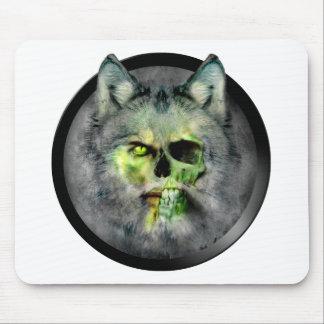 Zombie vampire werewolf! mouse pad
