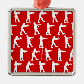 Zombie Walk Christmas Ornament