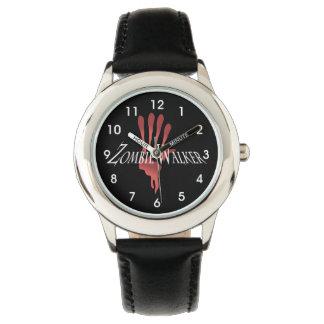 Zombie Walker and Bloody Hand Wrist Watch