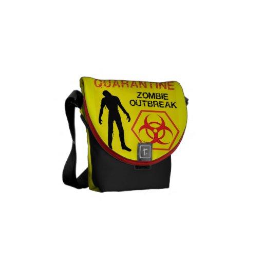 Zombie Walking Messenger Bag Hot Design