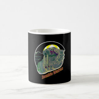Zombie Walrus Yellow/Purple Coffee Mug