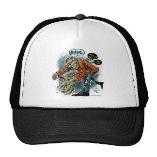 Zombie Want Brains - light shirt Cap