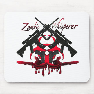 Zombie Whisperer Mouse Pads