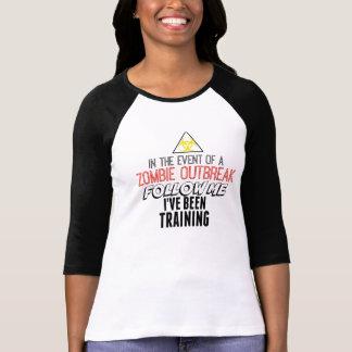 Zombie Women's Bella 3/4 Sleeve Raglan T-Shirt