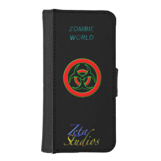 Zombie World Infected iPhone 5/5s Wallet Case