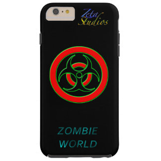 Zombie World Infected iPhone 6/6s Plus, Tough Tough iPhone 6 Plus Case