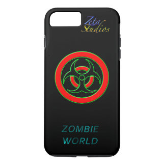 Zombie World Infected iPhone 7 Plus, Tough iPhone 7 Plus Case