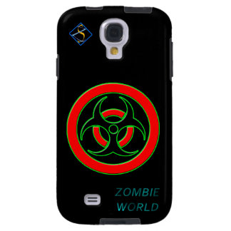 Zombie World Infected Samsung Galaxy S4, Tough Galaxy S4 Case