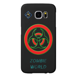 Zombie World Infected Samsung Galaxy S6, Plastic Samsung Galaxy S6 Cases