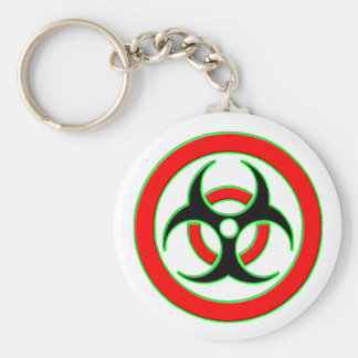 Zombie World Infection Key Chain