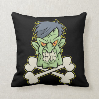 Zombie Xbones '003' Throw Pillow